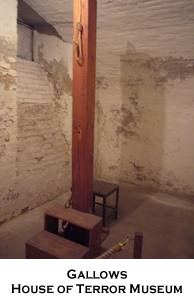 Gallows, House of Terror Museum