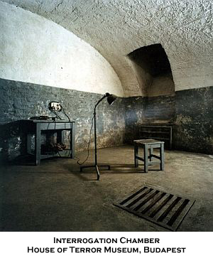 Interrogation Chamber, House of Terror Museum, Budapest