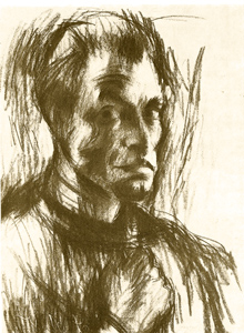 Ferenc Martyn Selfportrait, 1927