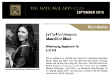 National Arts Club notice