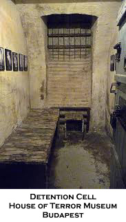 Detention Cell, House of Terror Museum, Budapest
